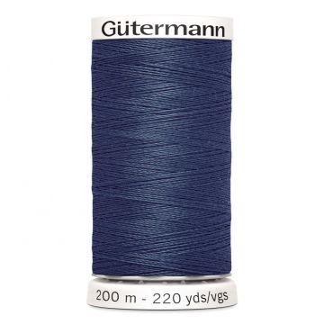 Gütermann 593 - Donker Staalblauw