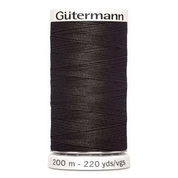 Gütermann 671 - Grauw Donker Bruin