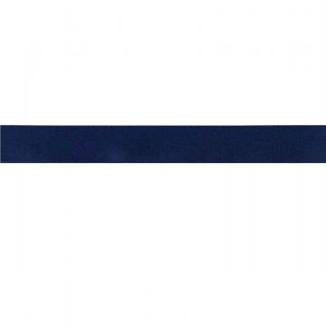kuny dubbel geweven satijn lint Navy