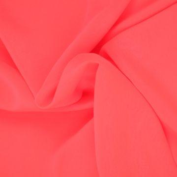 Oranje Roze Chiffon