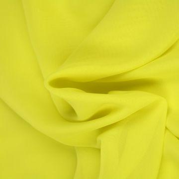 Lime Gele Chiffon