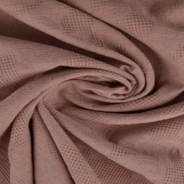 Katoen Jacquard - Vintage Roze
