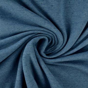 katoenen tricot old blue