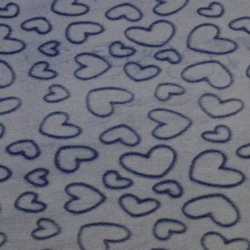 Hearts Dark Blue