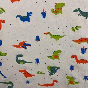 Stonewashed - Dino on Soft Grey