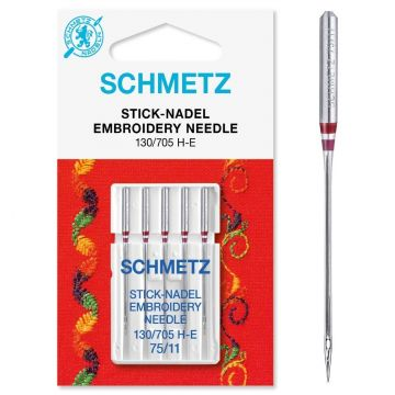 Schmetz embroidery 75/11