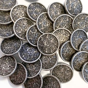 Knoop Metal Flowers - 23 mm