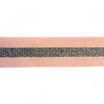 elastiek roze streep 40mm