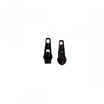 runner zipper donkergrijs voor 3mm rits