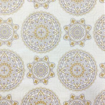 Mandala - Yellow/Grey