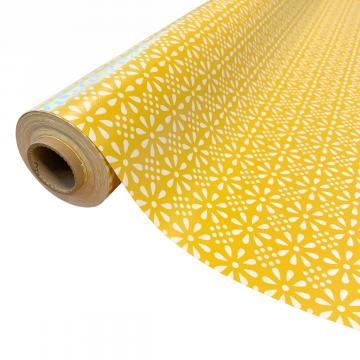 tafelzeil sunny fowers in het geel
