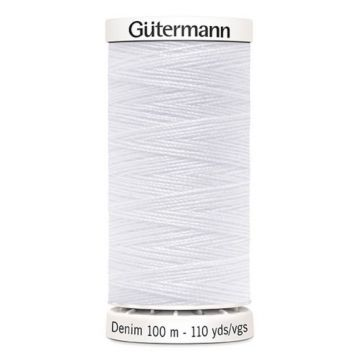 Gütermann Denim-1005 White