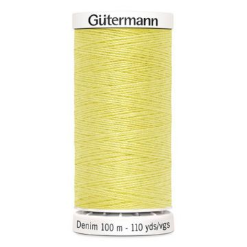 Gütermann Denim-1380 Soft Yellow
