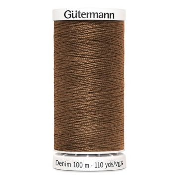 Gütermann Denim-2165 Bronze Brown