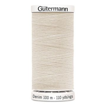 Gütermann Denim-3130 Ecru