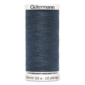 Gütermann Denim-7635 Jeansblue