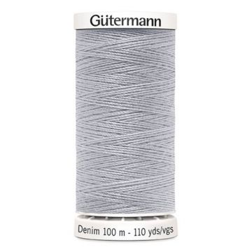 Gütermann Denim-9830 Silver Grey