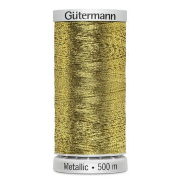 Gütermann Metallic 500 meter-7004 Gold