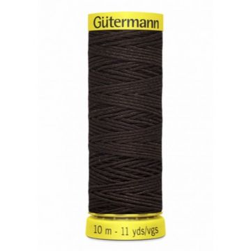 Gütermann Elastiek Garen-4002 - Dark Brown
