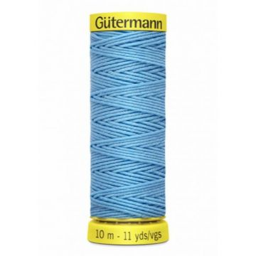 Gütermann Elastiek Garen-6037 - Soft Blue