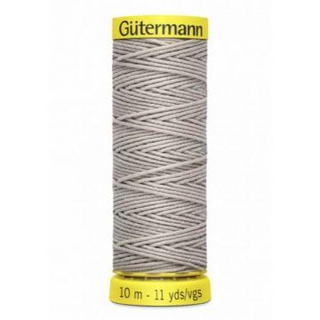 Gütermann Elastiek Garen-8387 - Soft Grey