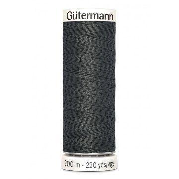 Gütermann 200 meter naaigaren - donker antraciet