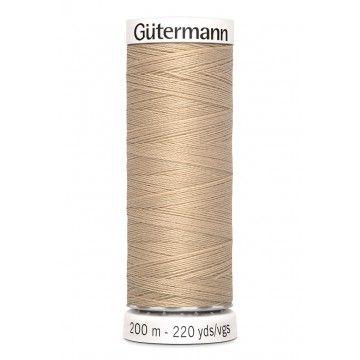 Gütermann 200 meter naaigaren - zandbeige