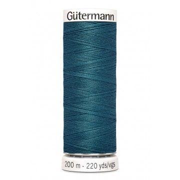 Gütermann 200 meter naaigaren - petrol groen