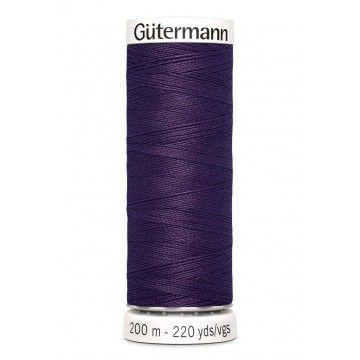 Gütermann 200 meter naaigaren - aubergine paars
