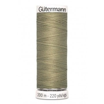 Gütermann 200 meter naaigaren - kaki