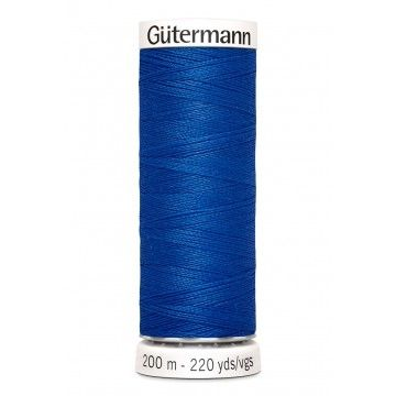 Gütermann 200 meter naaigaren - royal blue