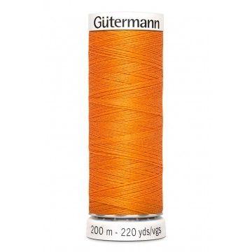 Gütermann 200 meter naaigaren - oranje