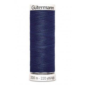 Gütermann 200 meter naaigaren - nacht blauw