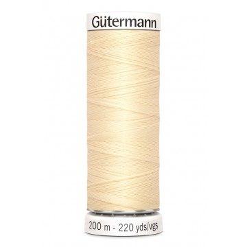 Gütermann 200 meter naaigaren - diep ecru