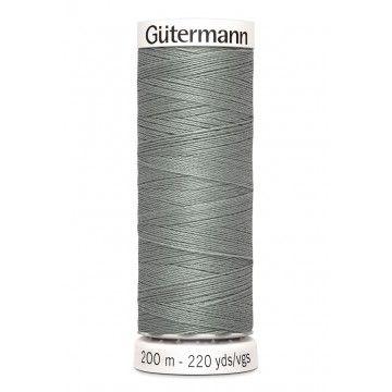 Gütermann 200 meter naaigaren - midden grijs