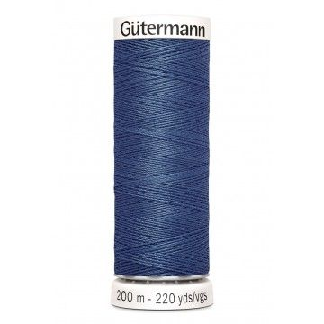 Gütermann 200 meter naaigaren - jeans blauw