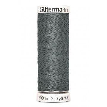 Gütermann 200 meter naaigaren - donkerder grijs