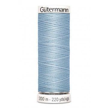 Gütermann 200 meter naaigaren - licht blauw