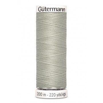 Gütermann 200 meter naaigaren - beige grijs