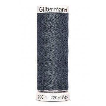 Gütermann 200 meter naaigaren - blauw grijs