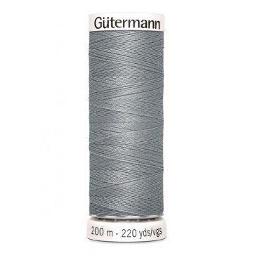 Gütermann 200 meter naaigaren - grijs