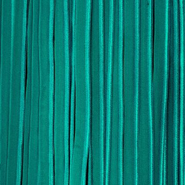 paspelband elastisch fel turquoise