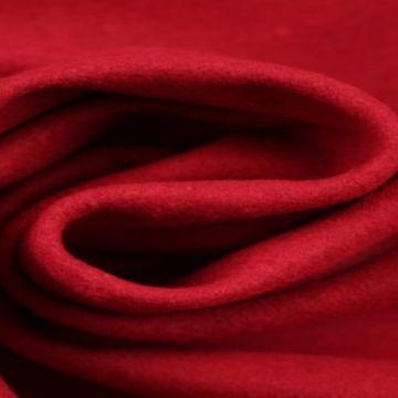 Rode gemêleerde wol