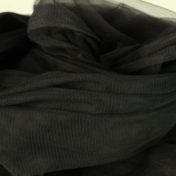 zachte tule - zwart