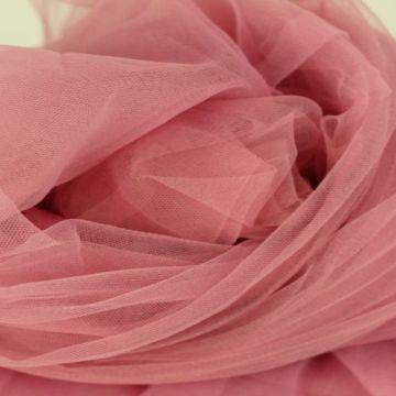zachte tule - vintage roze