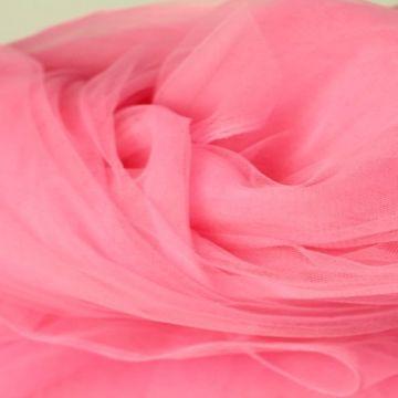 zachte tule - fel roze