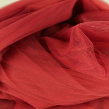 zachte tule - donker rood