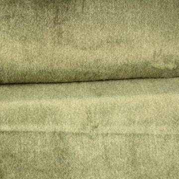 Faux Fur - Beige/Green Melange