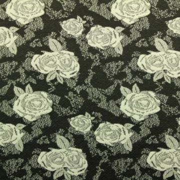 Jacquard Jersey - Roses and Roses