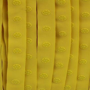 Gele Drukkertjesband